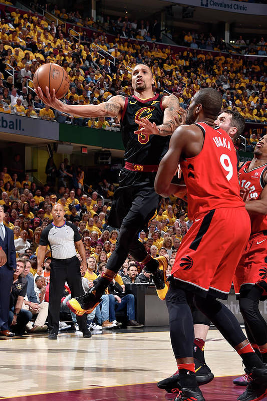 Playoffs Art Print featuring the photograph George Hill by David Liam Kyle
