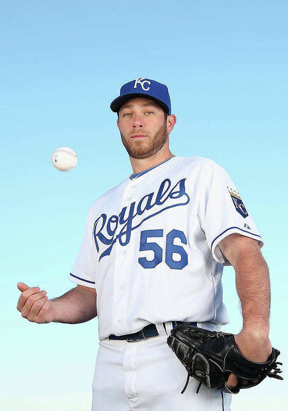 Media Day Art Print featuring the photograph Greg Holland by Christian Petersen