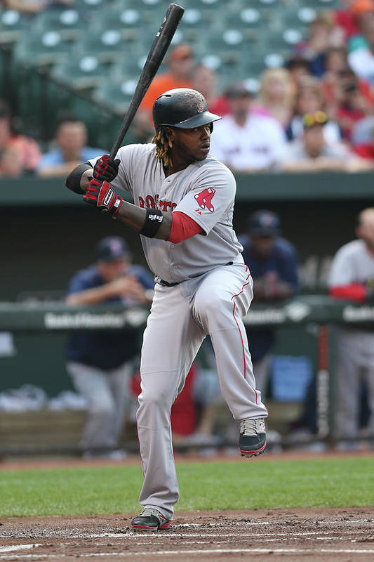 People Art Print featuring the photograph Hanley Ramirez by Patrick Smith