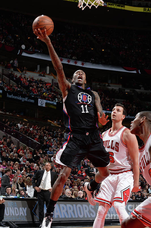 Nba Pro Basketball Art Print featuring the photograph Jamal Crawford by Randy Belice