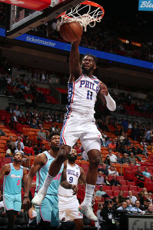 Nba Pro Basketball Art Print featuring the photograph James Ennis by Issac Baldizon