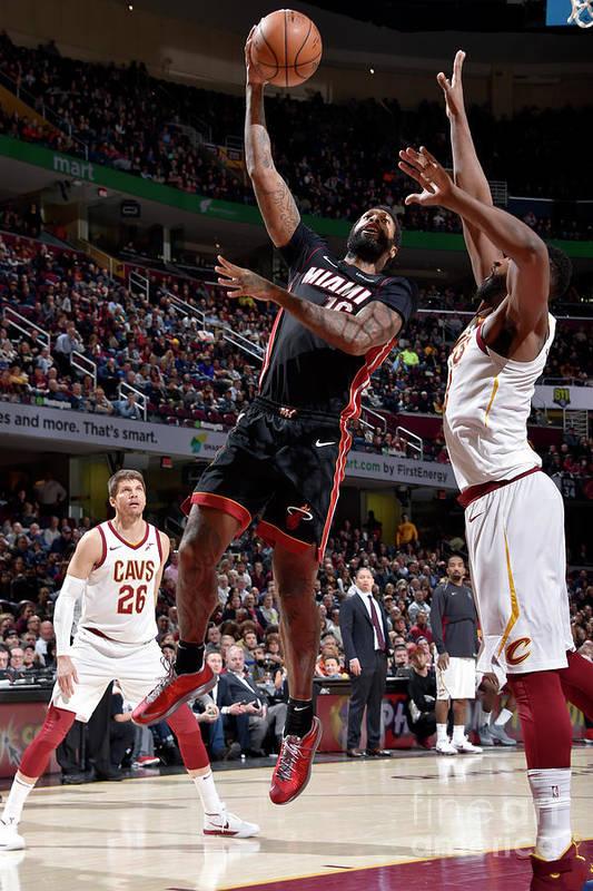 Nba Pro Basketball Art Print featuring the photograph James Johnson by David Liam Kyle