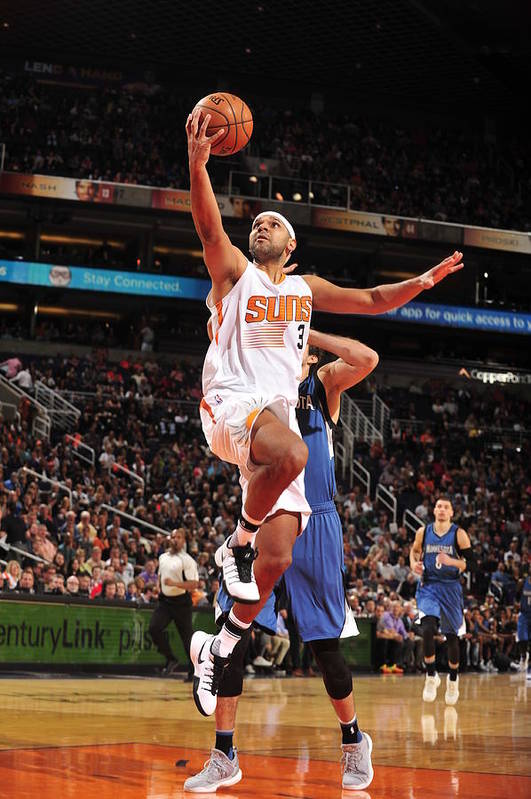 Nba Pro Basketball Art Print featuring the photograph Jared Dudley by Barry Gossage