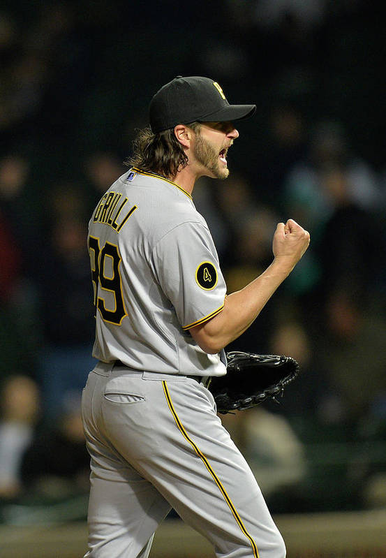 Fist Art Print featuring the photograph Jason Grilli by Brian Kersey