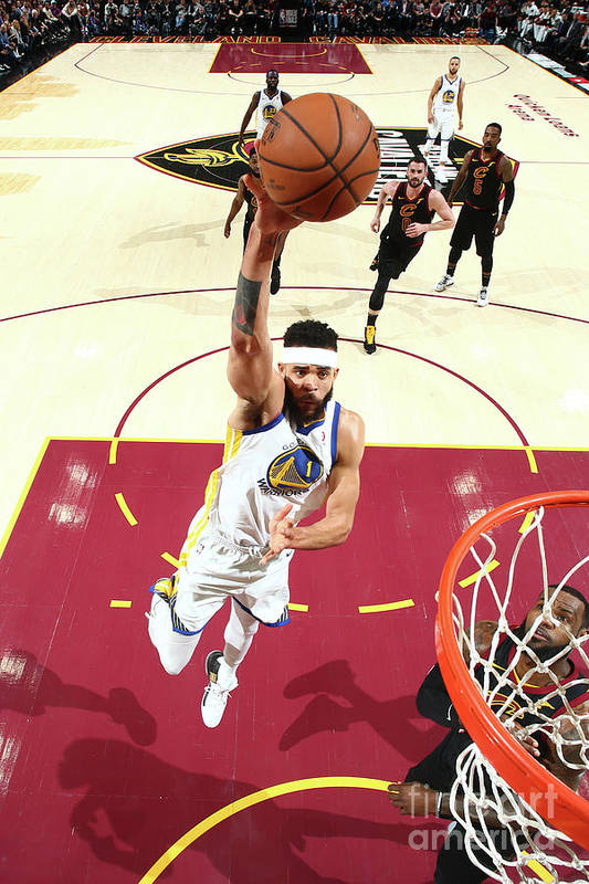 Playoffs Art Print featuring the photograph Javale Mcgee by Nathaniel S. Butler