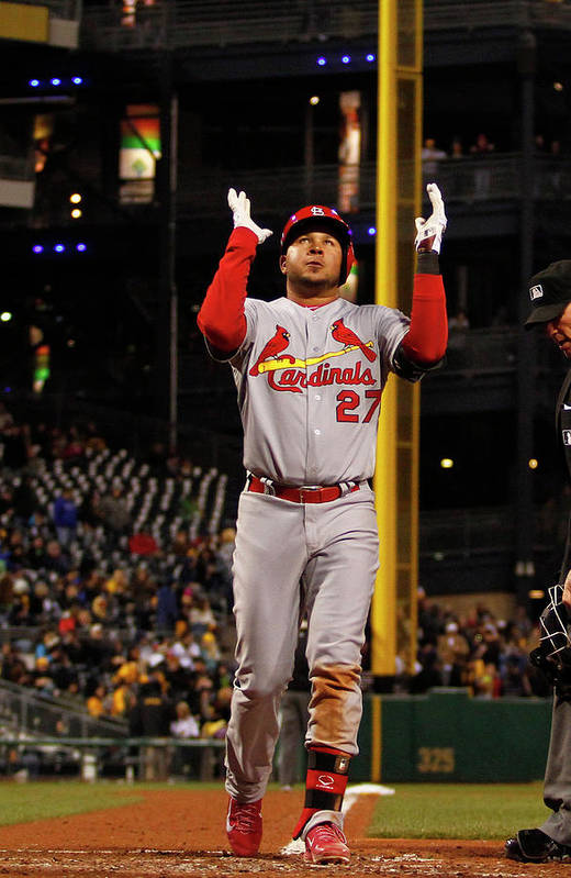 St. Louis Cardinals Art Print featuring the photograph Jhonny Peralta by Justin K. Aller