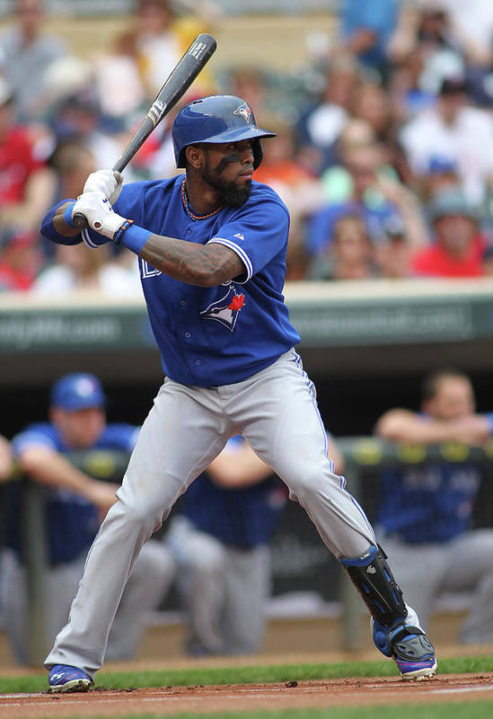 American League Baseball Art Print featuring the photograph Jose Reyes by Andy King