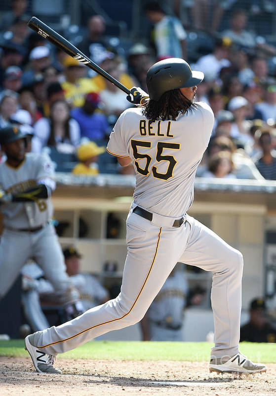 Ninth Inning Art Print featuring the photograph Josh Bell by Denis Poroy