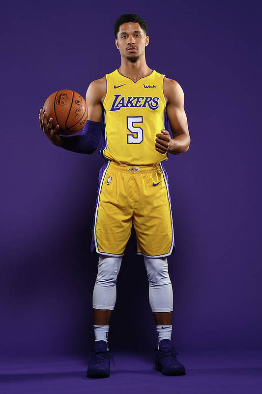Media Day Art Print featuring the photograph Josh Hart by Aaron Poole
