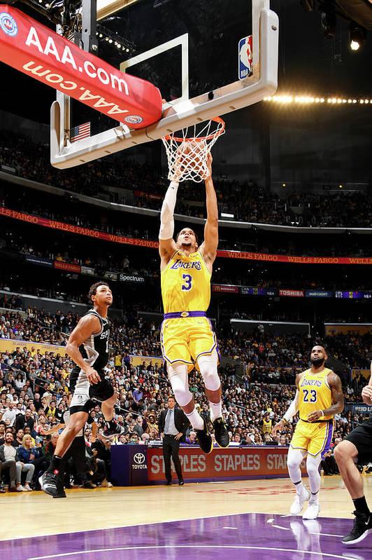 Nba Pro Basketball Art Print featuring the photograph Josh Hart by Andrew D. Bernstein