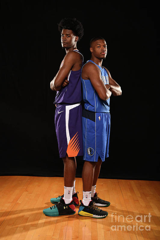 Nba Pro Basketball Art Print featuring the photograph Josh Jackson by Brian Babineau