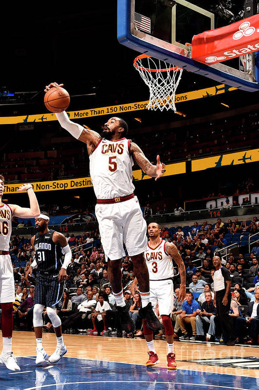 Nba Pro Basketball Art Print featuring the photograph J.r. Smith by Gary Bassing