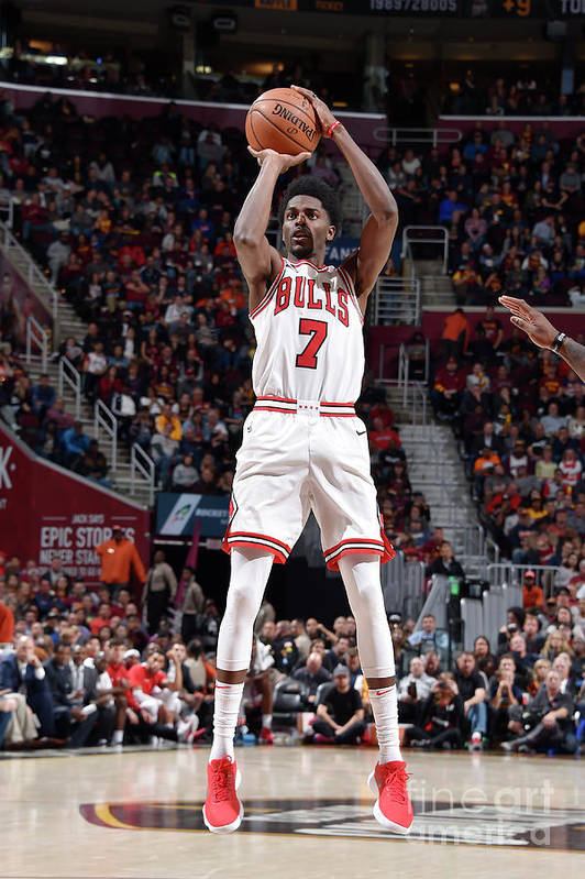Nba Pro Basketball Art Print featuring the photograph Justin Holiday by David Liam Kyle