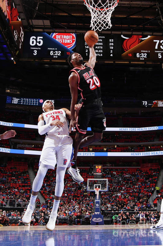 Justise Winslow Art Print featuring the photograph Justise Winslow by Brian Sevald