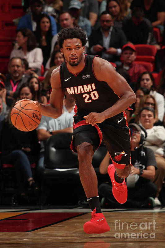 Justise Winslow Art Print featuring the photograph Justise Winslow by Issac Baldizon