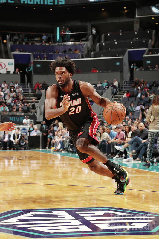 Justise Winslow Art Print featuring the photograph Justise Winslow by Kent Smith