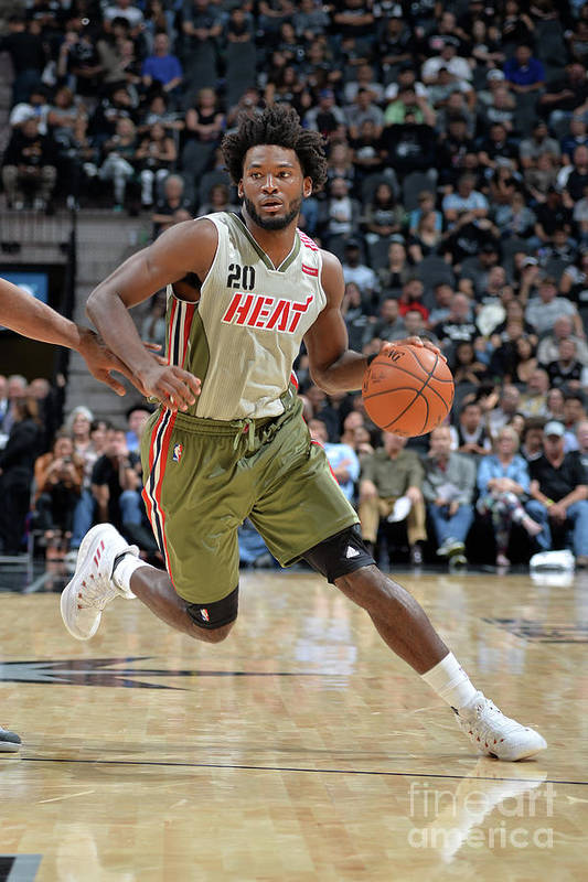 Justise Winslow Art Print featuring the photograph Justise Winslow by Mark Sobhani