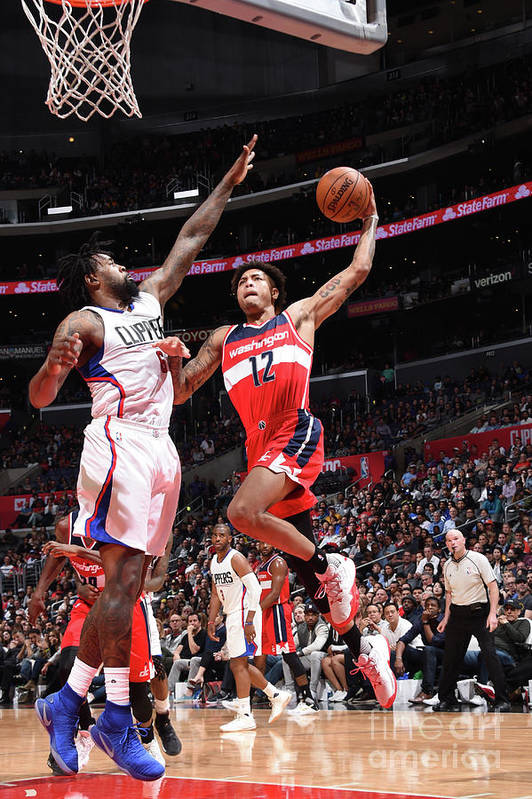 Nba Pro Basketball Art Print featuring the photograph Kelly Oubre by Andrew D. Bernstein