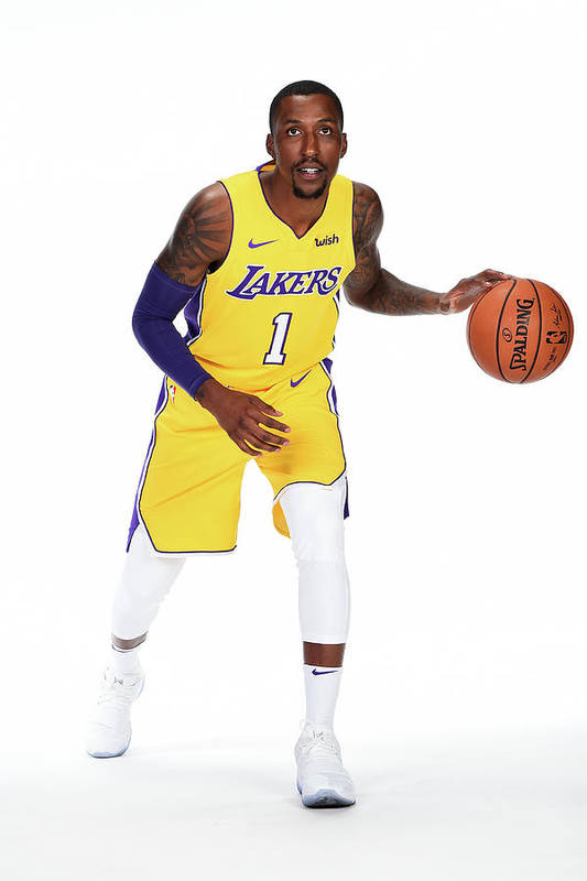 Media Day Art Print featuring the photograph Kentavious Caldwell-pope by Andrew D. Bernstein