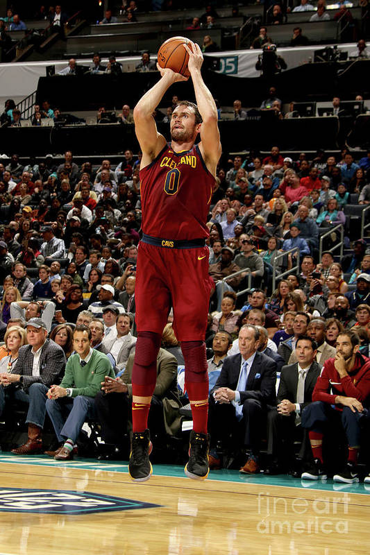 Nba Pro Basketball Art Print featuring the photograph Kevin Love by Brock Williams-smith