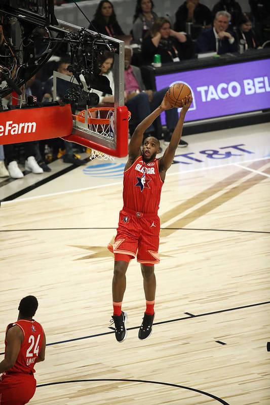 Nba Pro Basketball Art Print featuring the photograph Khris Middleton by Jeff Haynes