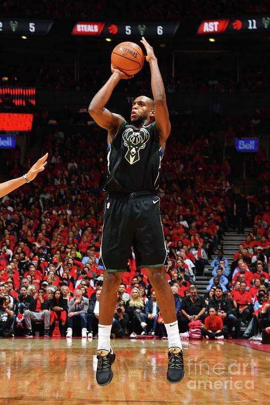 Nba Pro Basketball Art Print featuring the photograph Khris Middleton by Jesse D. Garrabrant