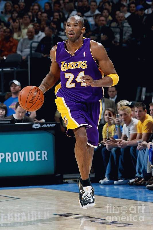 Nba Pro Basketball Art Print featuring the photograph Kobe Bryant by Layne Murdoch
