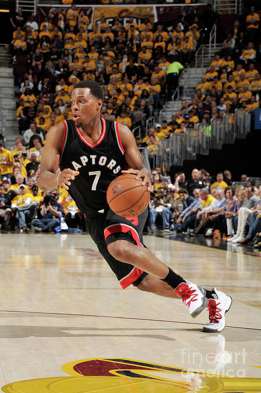People Art Print featuring the photograph Kyle Lowry by David Liam Kyle