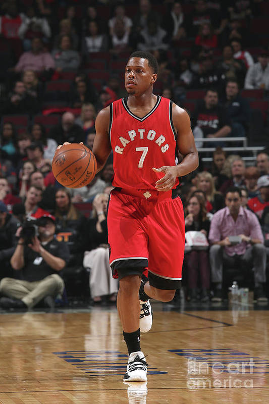 People Art Print featuring the photograph Kyle Lowry by Gary Dineen