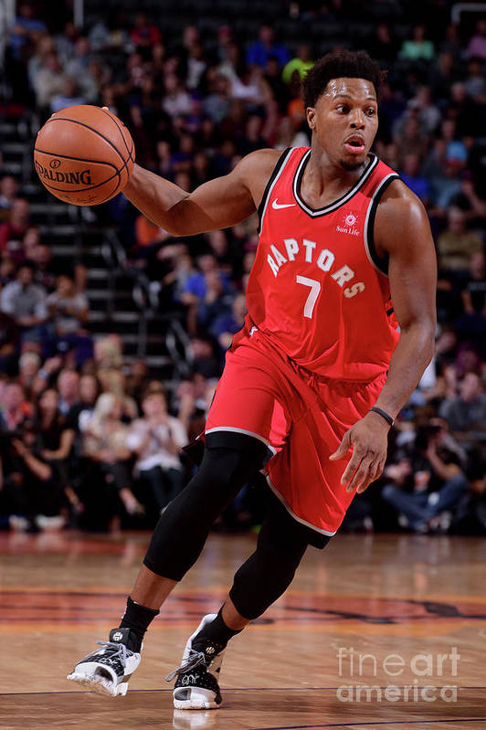 Nba Pro Basketball Art Print featuring the photograph Kyle Lowry by Michael Gonzales