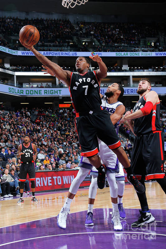 Nba Pro Basketball Art Print featuring the photograph Kyle Lowry by Rocky Widner