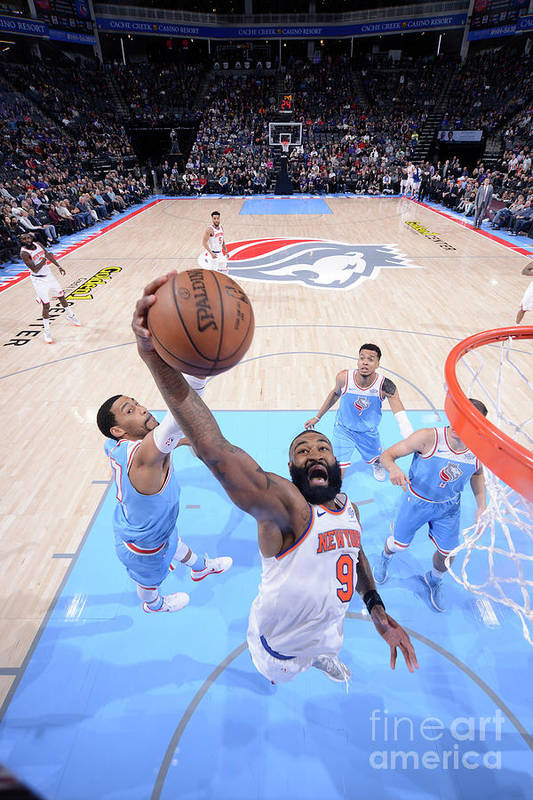 Nba Pro Basketball Art Print featuring the photograph Kyle O'quinn by Rocky Widner