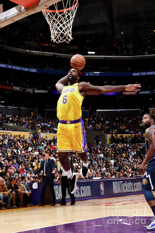 Nba Pro Basketball Art Print featuring the photograph Lance Stephenson by Andrew D. Bernstein