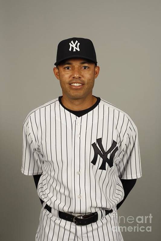 Media Day Art Print featuring the photograph Mariano Rivera by Robert Rogers