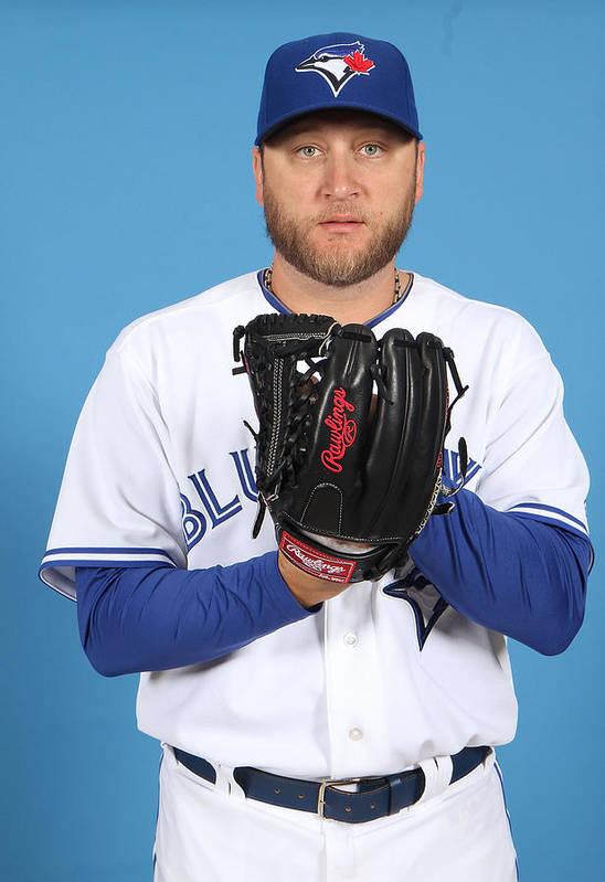 Media Day Art Print featuring the photograph Mark Buehrle by Marc Serota