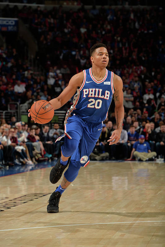 Nba Pro Basketball Art Print featuring the photograph Markelle Fultz by David Dow