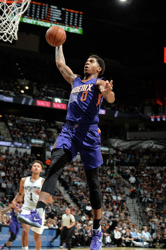 Nba Pro Basketball Art Print featuring the photograph Marquese Chriss by Mark Sobhani