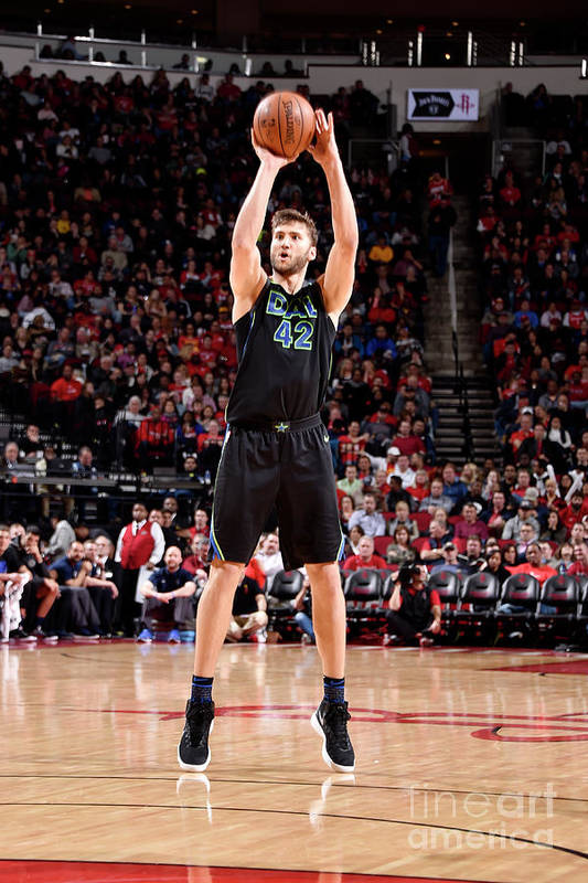 Nba Pro Basketball Art Print featuring the photograph Maxi Kleber by Bill Baptist