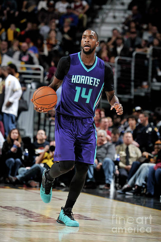 Nba Pro Basketball Art Print featuring the photograph Michael Kidd-gilchrist by David Liam Kyle