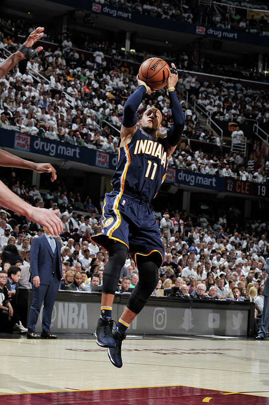 Playoffs Art Print featuring the photograph Monta Ellis by David Liam Kyle