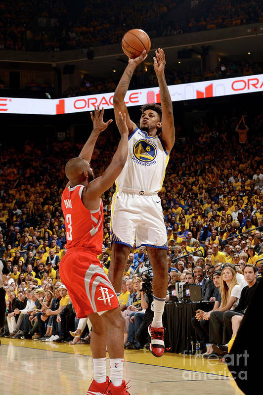 Playoffs Art Print featuring the photograph Nick Young by Noah Graham