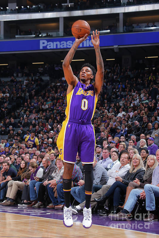 Nba Pro Basketball Art Print featuring the photograph Nick Young by Rocky Widner