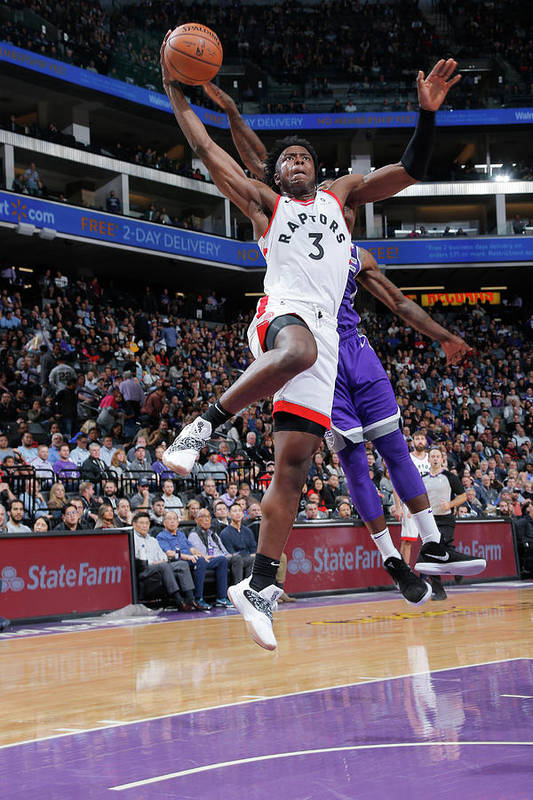 Nba Pro Basketball Art Print featuring the photograph Og Anunoby by Rocky Widner
