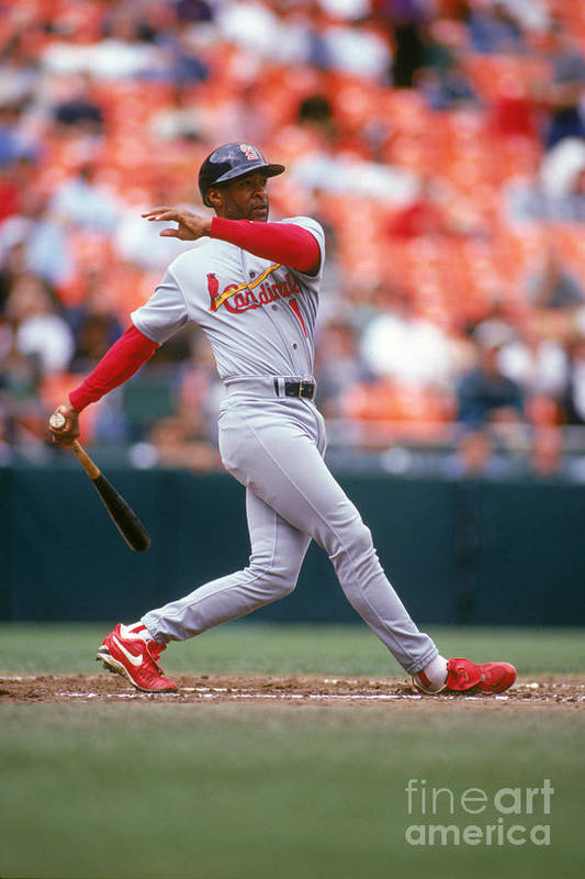 St. Louis Cardinals Art Print featuring the photograph Ozzie Smith by Don Smith