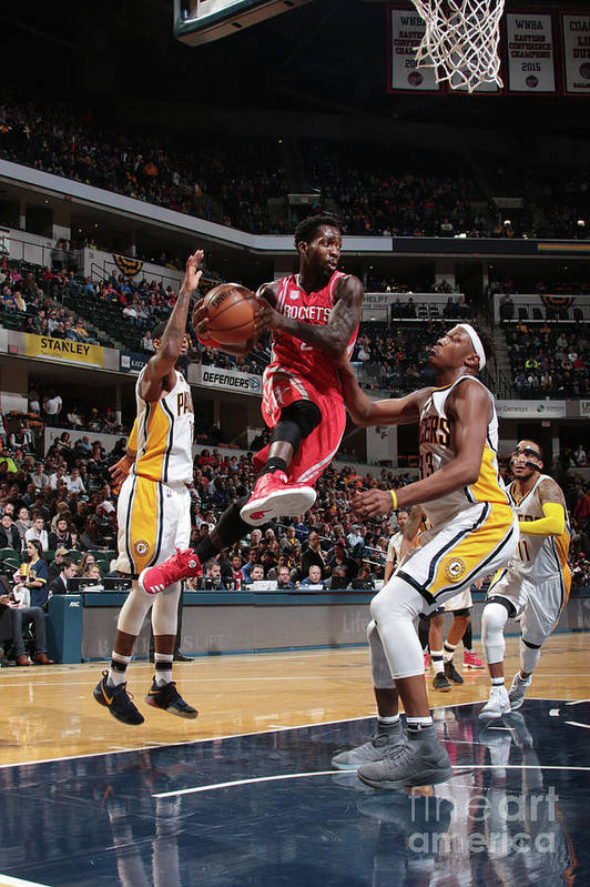 Nba Pro Basketball Art Print featuring the photograph Patrick Beverley by Ron Hoskins