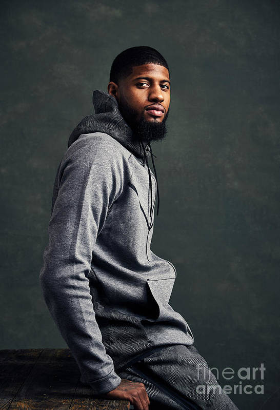 Event Art Print featuring the photograph Paul George by Jennifer Pottheiser