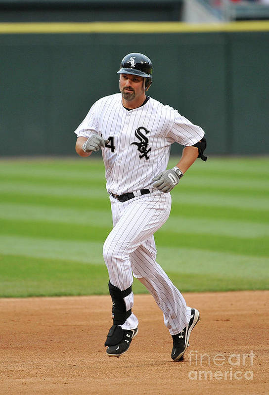 People Art Print featuring the photograph Paul Konerko by Brian Kersey