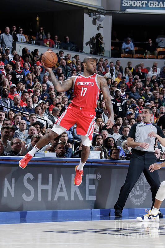 Nba Pro Basketball Art Print featuring the photograph P.j. Tucker by Ron Hoskins