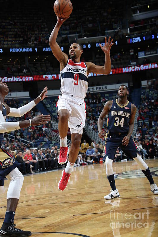 Smoothie King Center Art Print featuring the photograph Ramon Sessions by Layne Murdoch Jr.