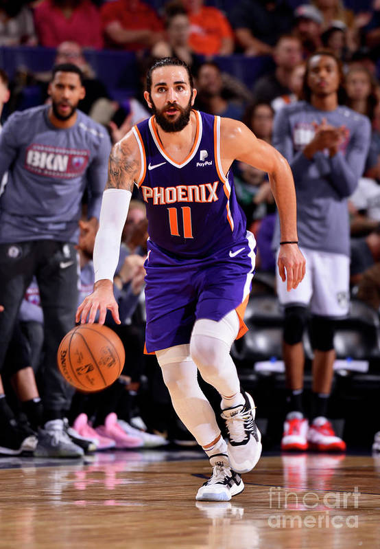 Nba Pro Basketball Art Print featuring the photograph Ricky Rubio by Barry Gossage